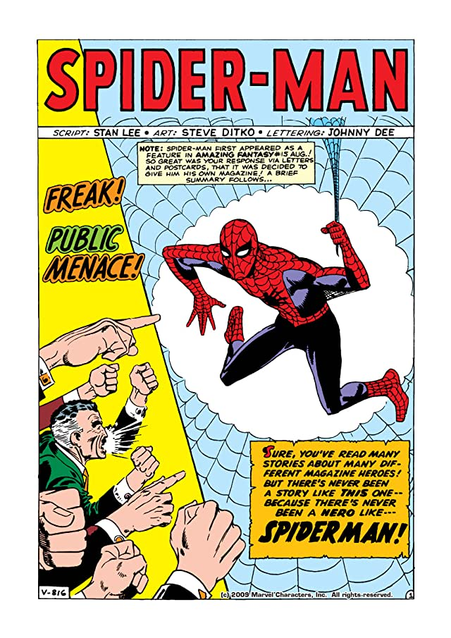 click for super-sized previews of Amazing Spider-Man (1963-1998) #1