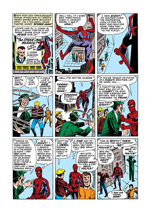 click for super-sized previews of Amazing Spider-Man (1963-1998) #4