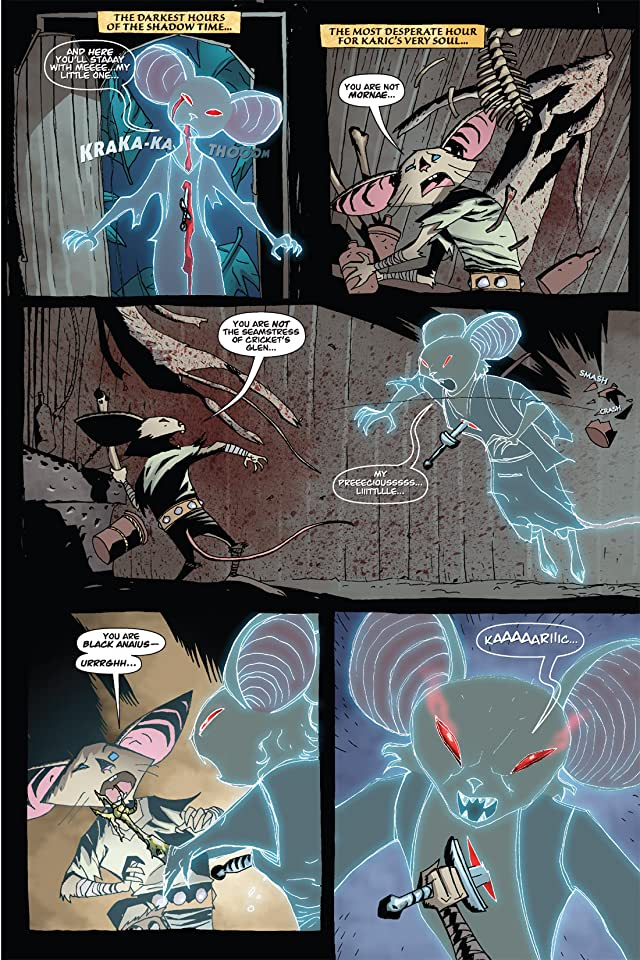 click for super-sized previews of The Mice Templar #5