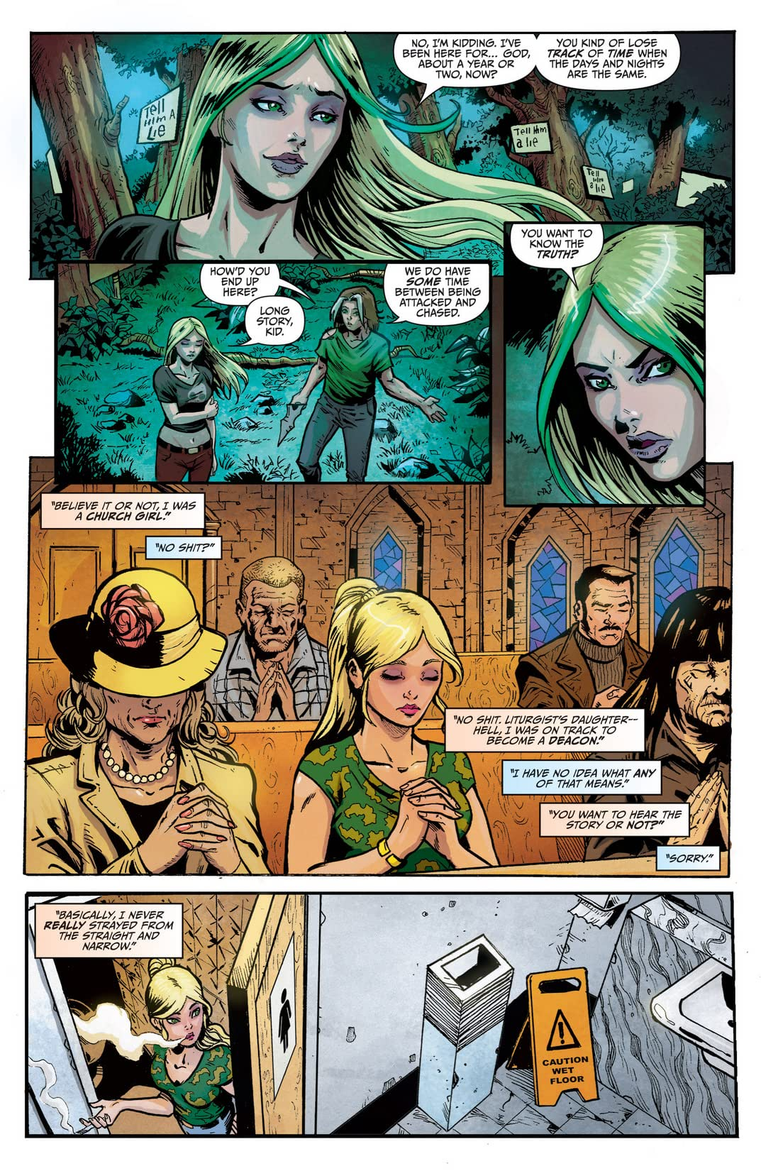 Wonderland: Through the Looking Glass #3 (of 5)