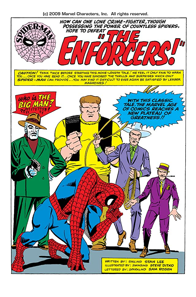click for super-sized previews of Amazing Spider-Man (1963-1998) #10