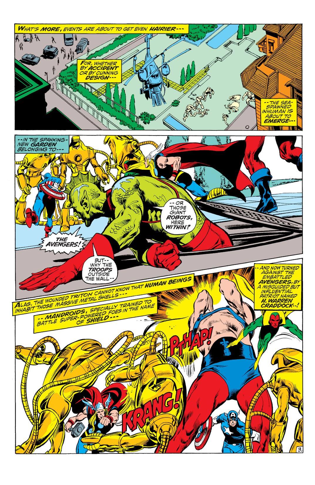 Avengers (1963-1996) #95