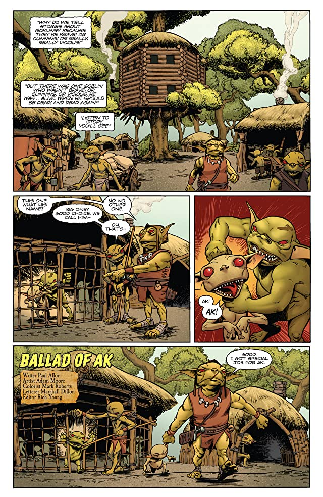 Pathfinder: Goblins! #5 (of 5): Digital Exclusive Edition