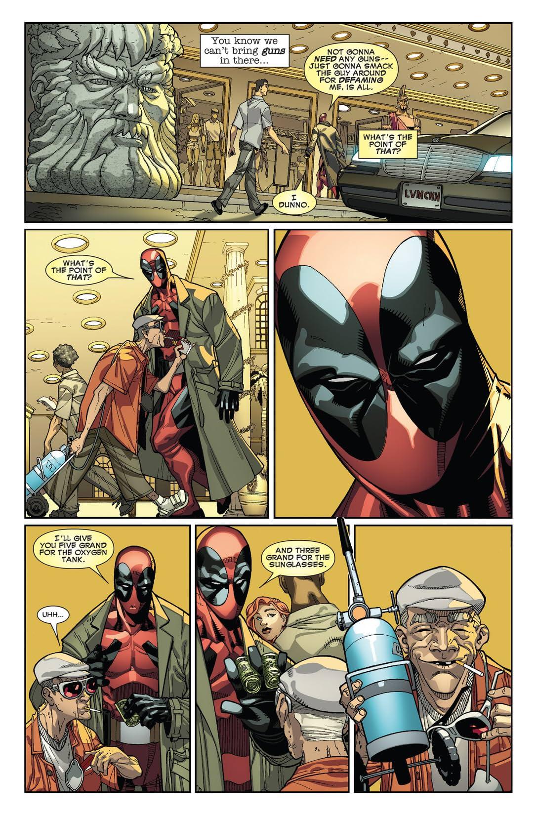 Deadpool (2008-2012) #23