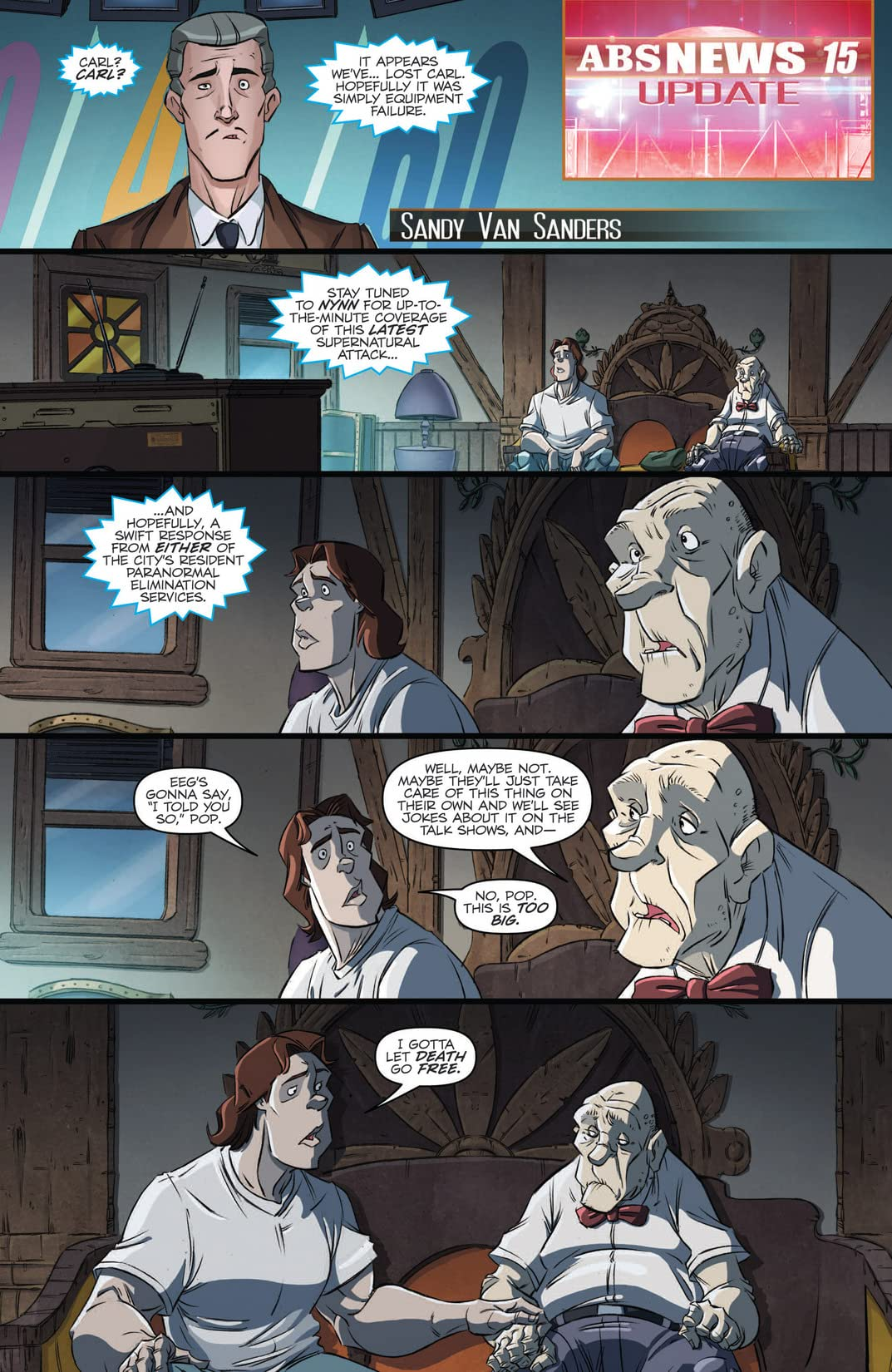 Ghostbusters (2011-2012) #15