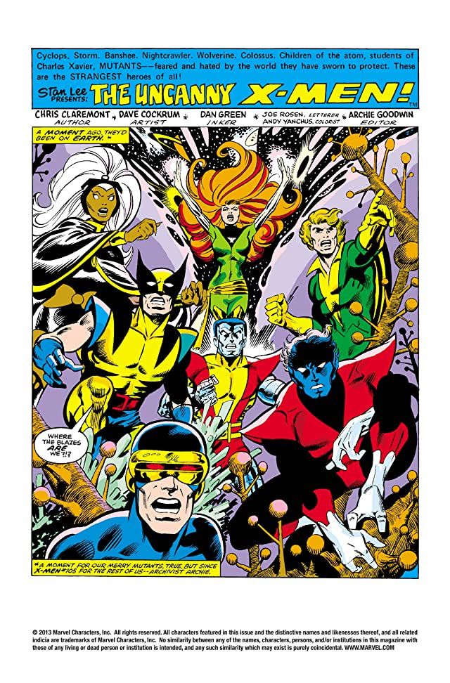 click for super-sized previews of Uncanny X-Men (1963-2011) #107