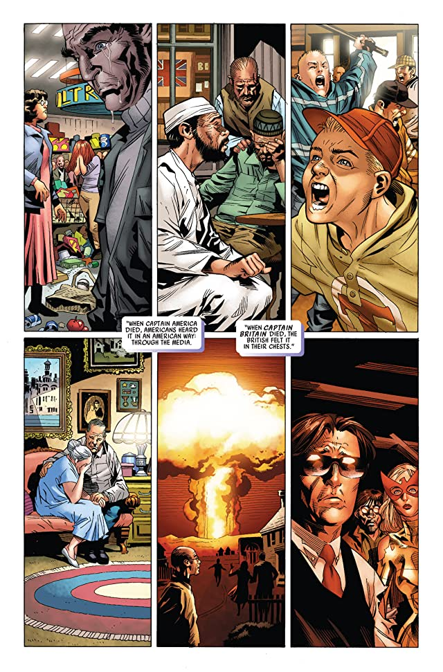 click for super-sized previews of Captain Britain and MI: 13 #2
