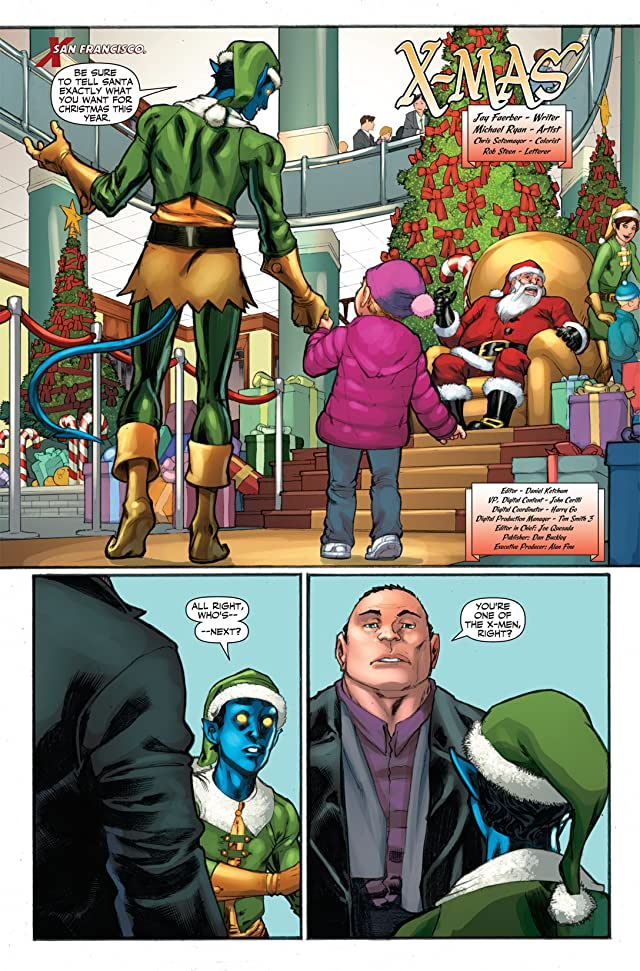 click for super-sized previews of Marvel Holiday Magazine #1