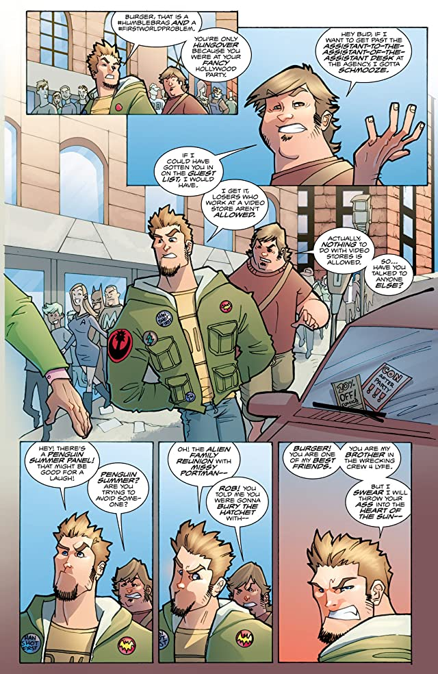 click for super-sized previews of Fanboys vs. Zombies Vol. 1