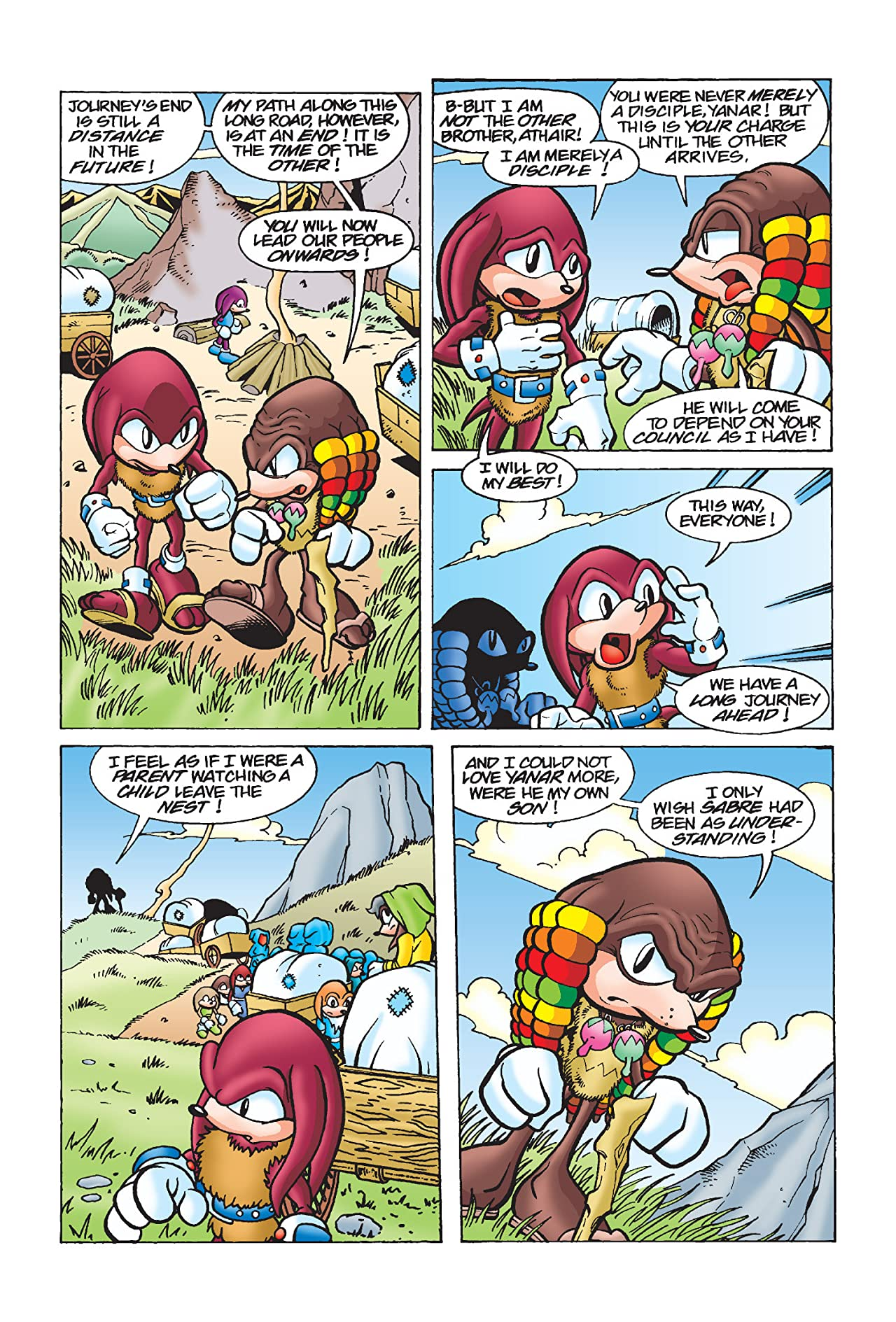 Knuckles the Echidna Archives Vol. 3