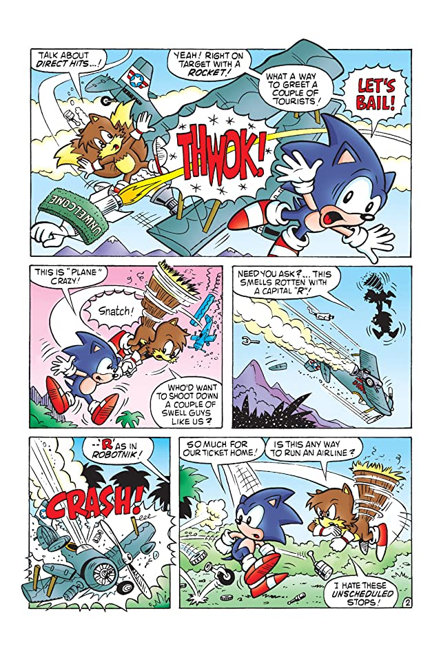 Sonic the Hedgehog Archives Vol. 4