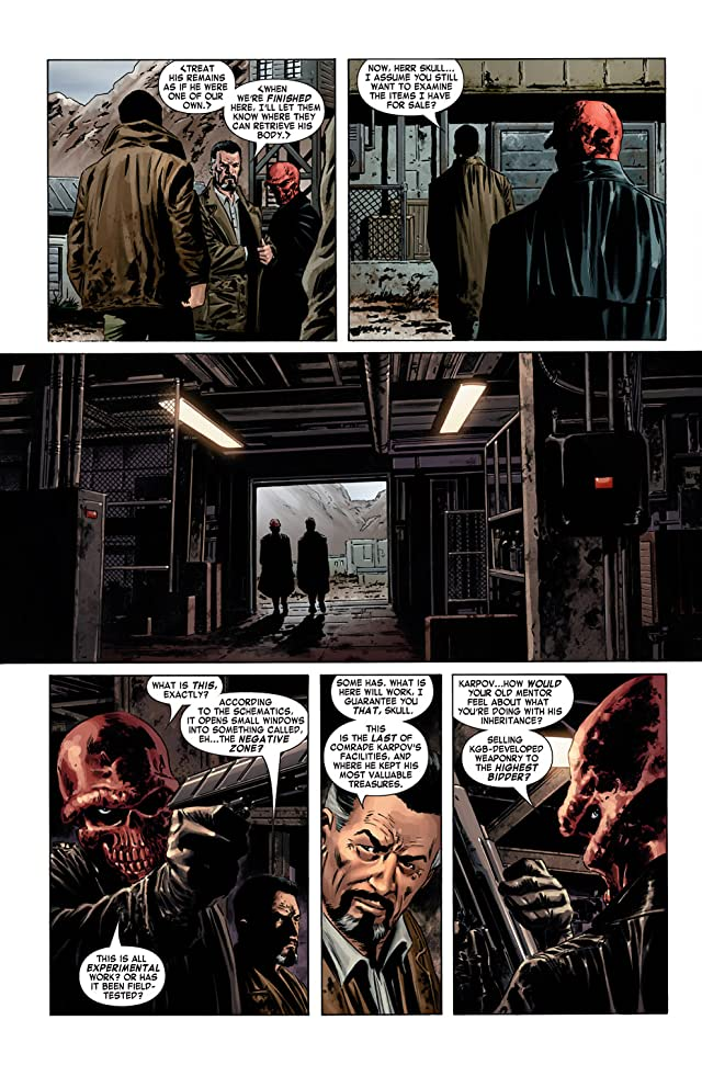 click for super-sized previews of Captain America (2004-2011) #1