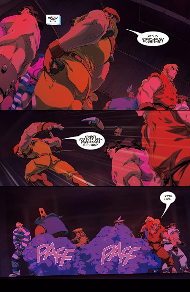 click for super-sized previews of Street Fighter II Turbo #7