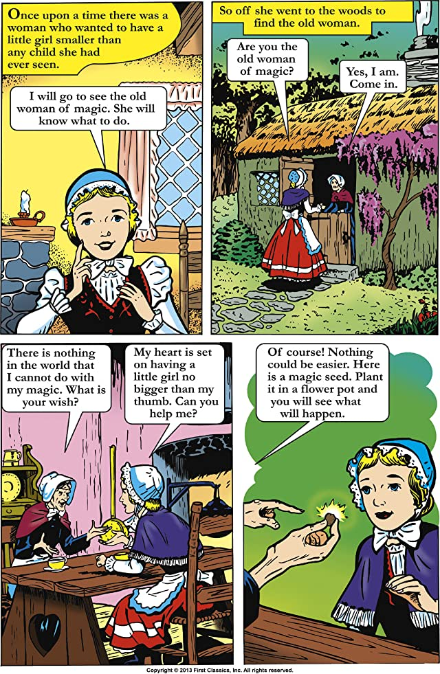 Classics Illustrated Junior #520: Thumbelina
