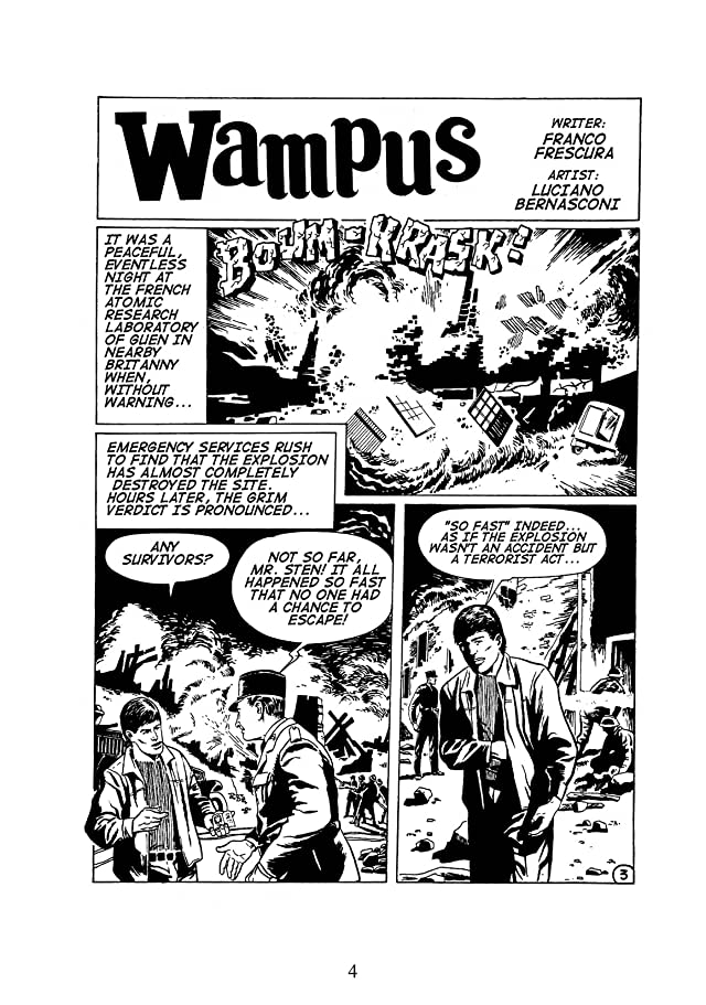 click for super-sized previews of WAMPUS Vol. 1: Death from the Stars