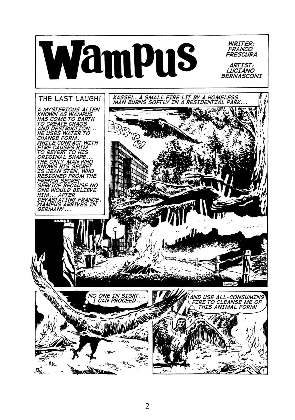 WAMPUS Vol. 2: The Last Laugh