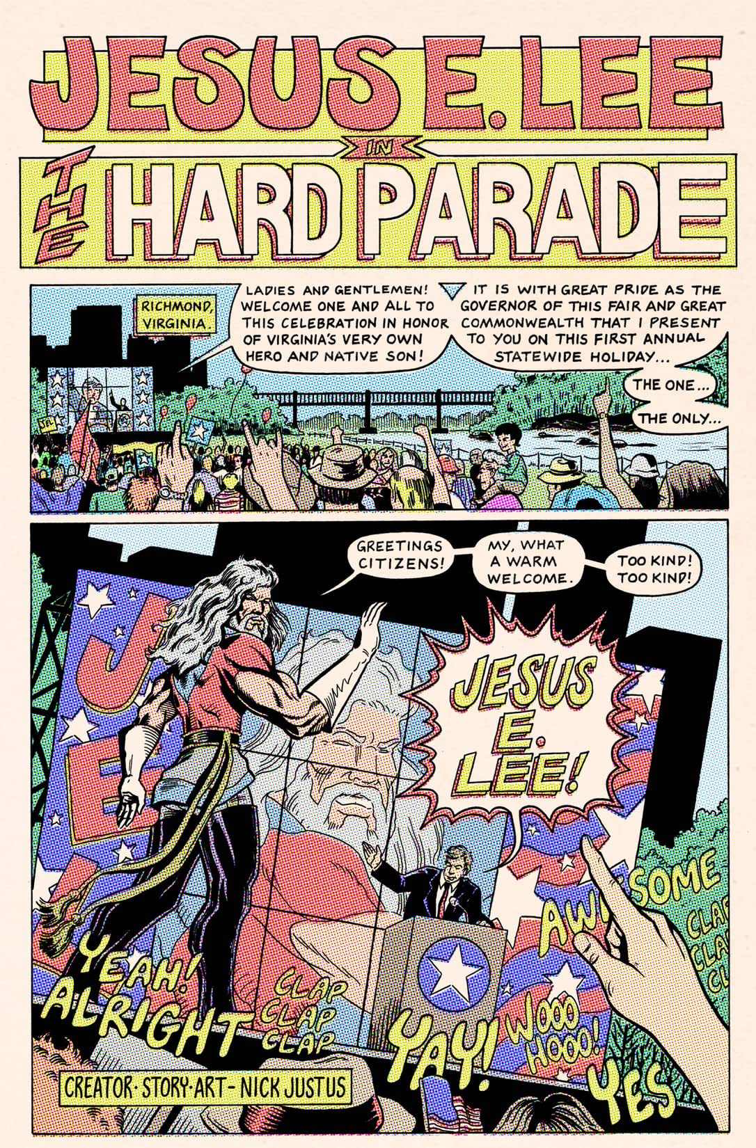 Jesus E. Lee: In Color!