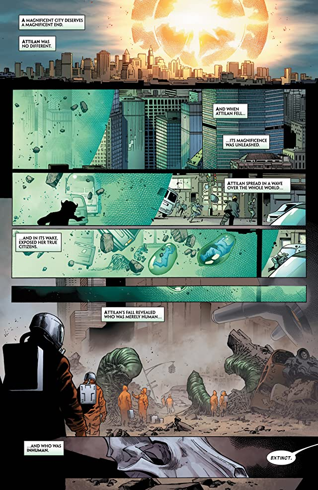 click for super-sized previews of Inhumanity #1