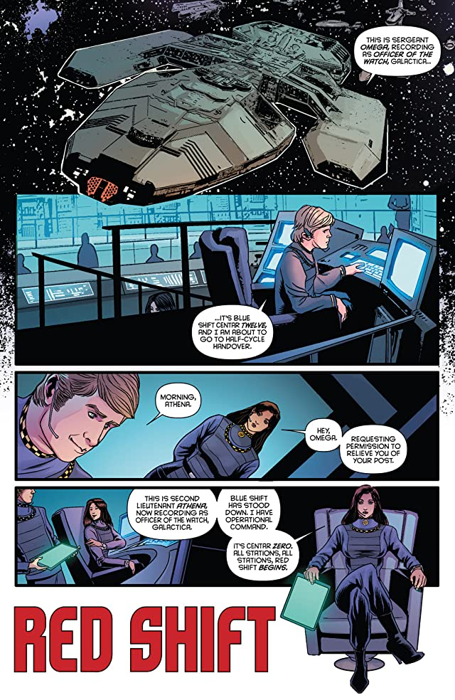 click for super-sized previews of Classic Battlestar Galactica Vol. 2 #6: Digital Exclusive Edition
