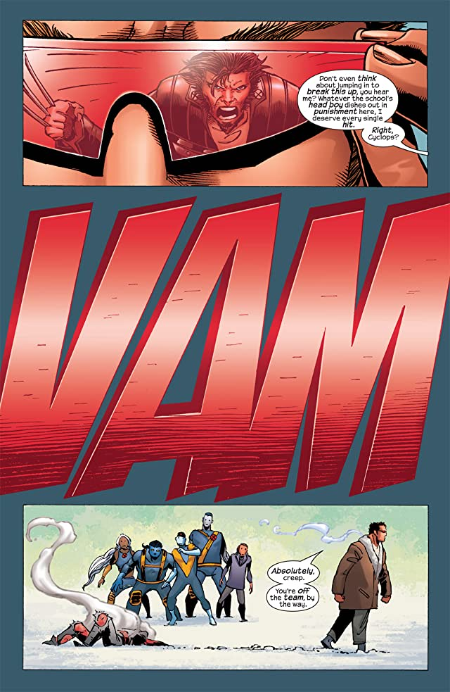 click for super-sized previews of Ultimate X-Men #32