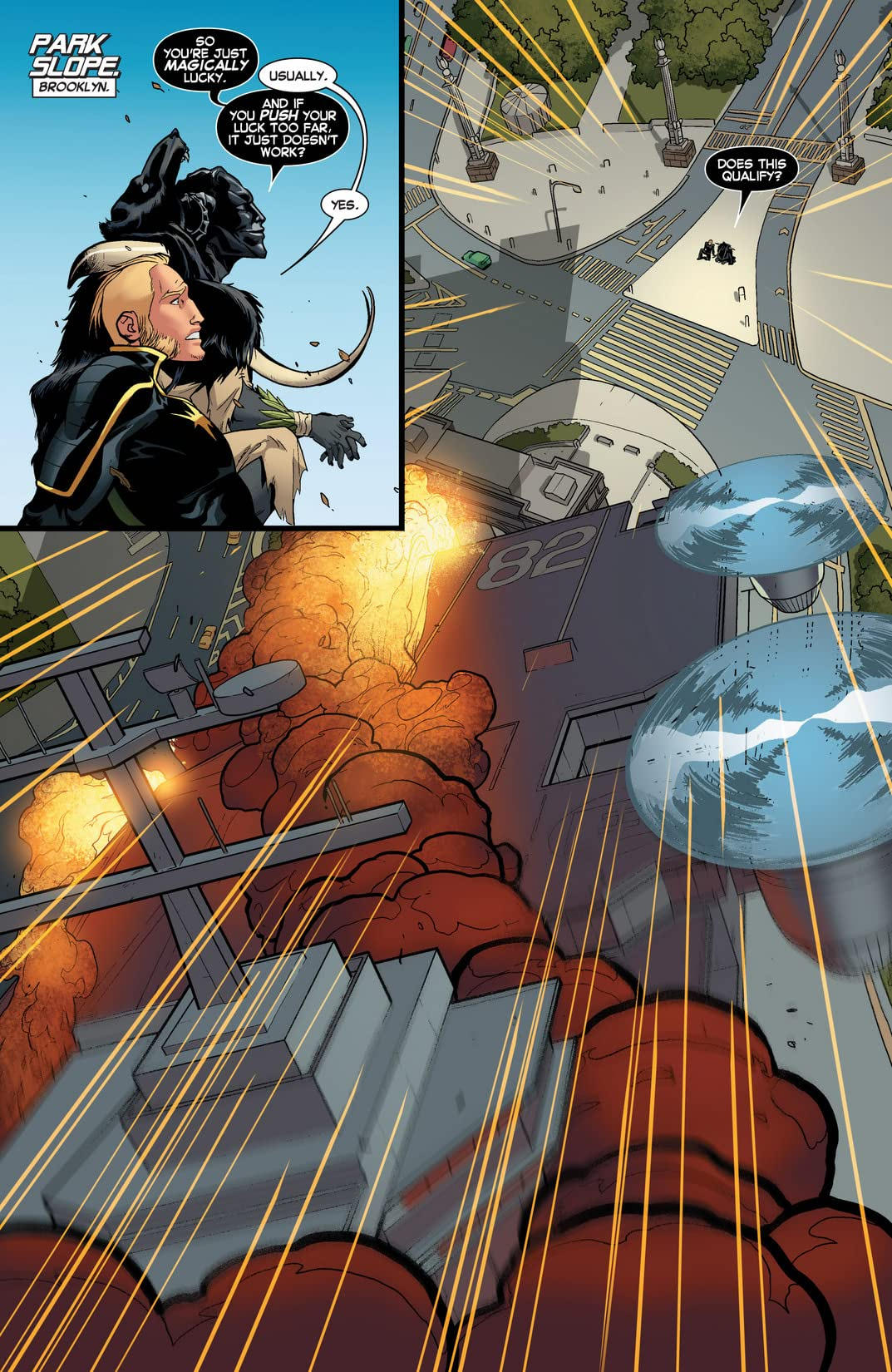 Longshot Saves The Marvel Universe #3 (of 4)