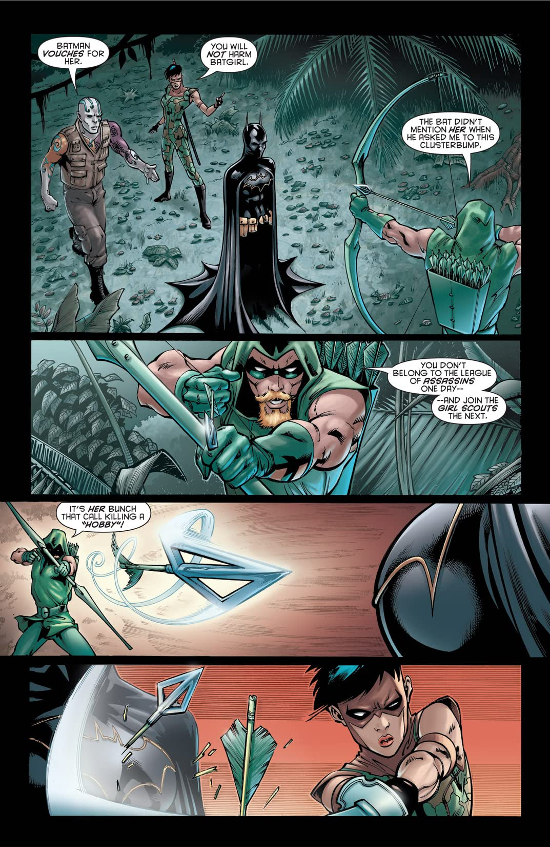 Batman and the Outsiders #4