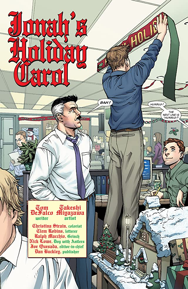 click for super-sized previews of Marvel Holiday Special: 2004