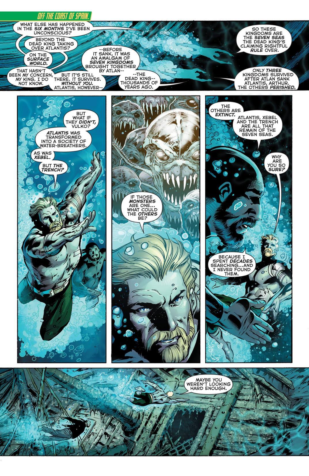 Aquaman (2011-2016) #25
