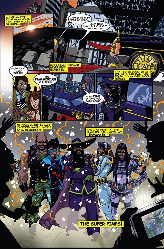 click for super-sized previews of Return of the Super Pimps #6