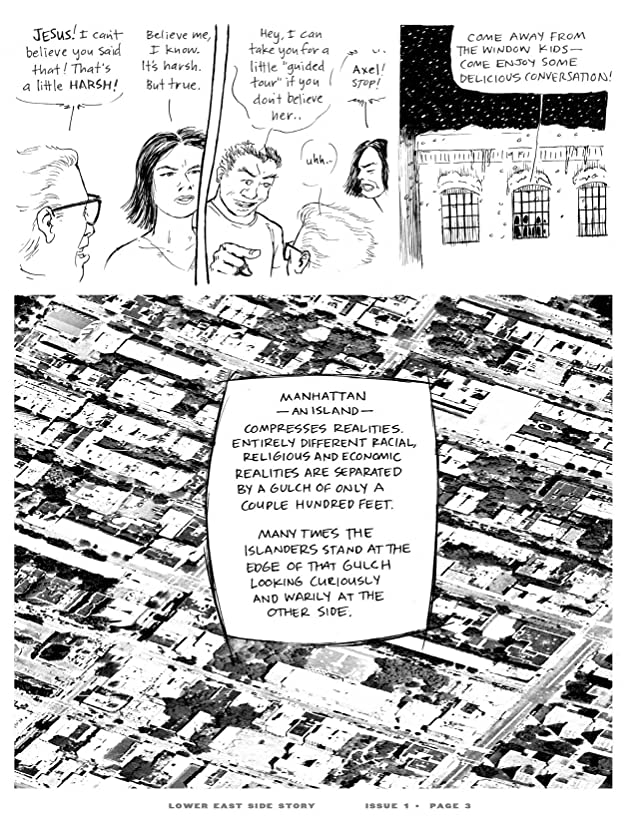 click for super-sized previews of Lower East Side Story #1