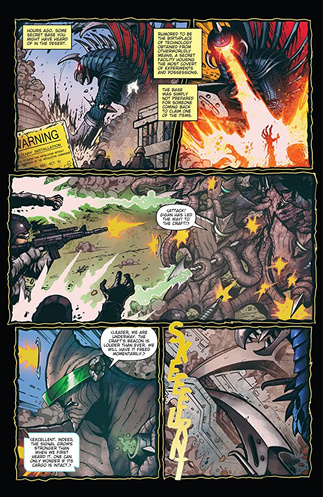 Godzilla: Rulers of Earth #6