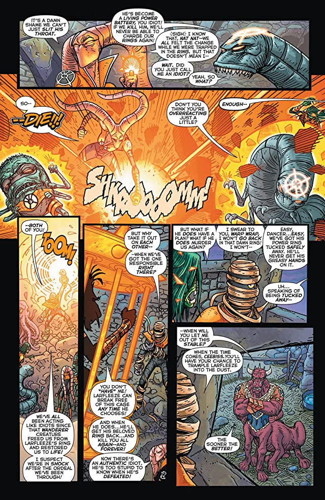 click for super-sized previews of Larfleeze (2013-2015) #5