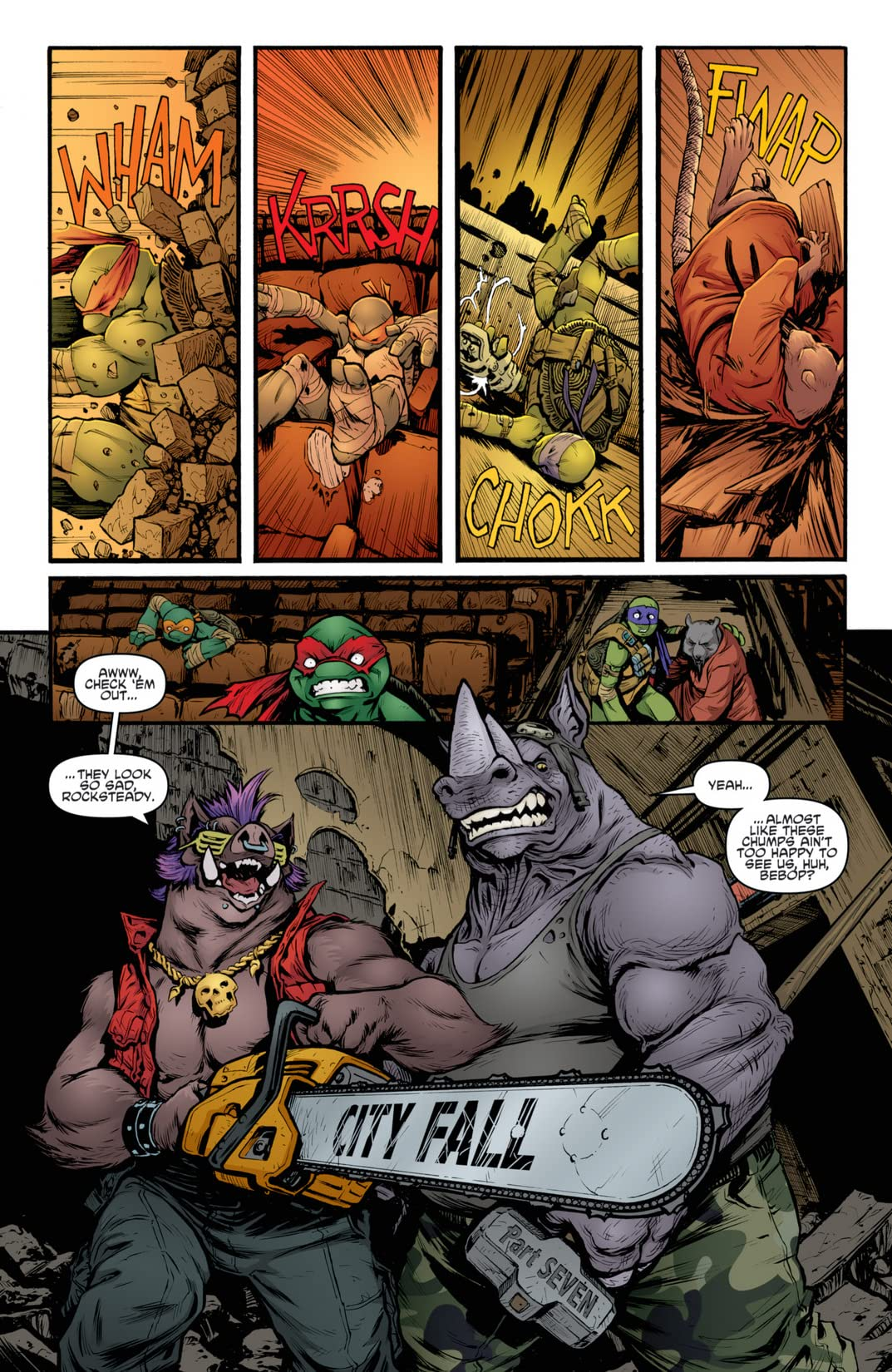 Teenage Mutant Ninja Turtles #28