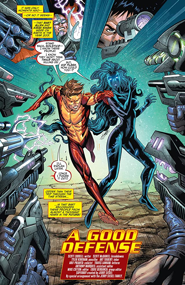 click for super-sized previews of Teen Titans (2011-2014) #25