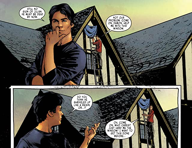 click for super-sized previews of The Vampire Diaries #3