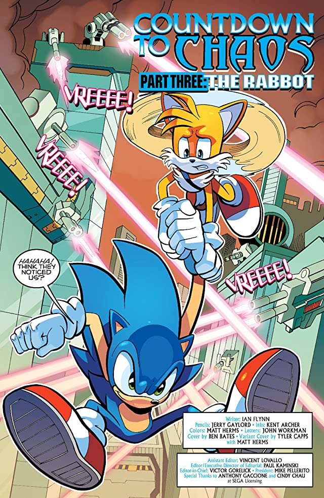 Sonic the Hedgehog #255