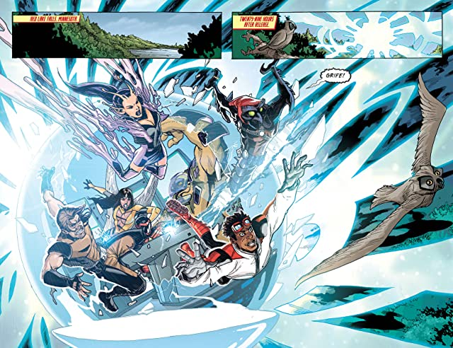 click for super-sized previews of Legion Lost (2011-2013) Vol. 1: Run From Tomorrow