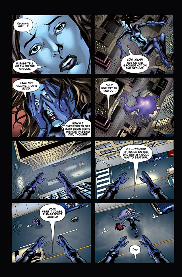 click for super-sized previews of Shadowhawk #6