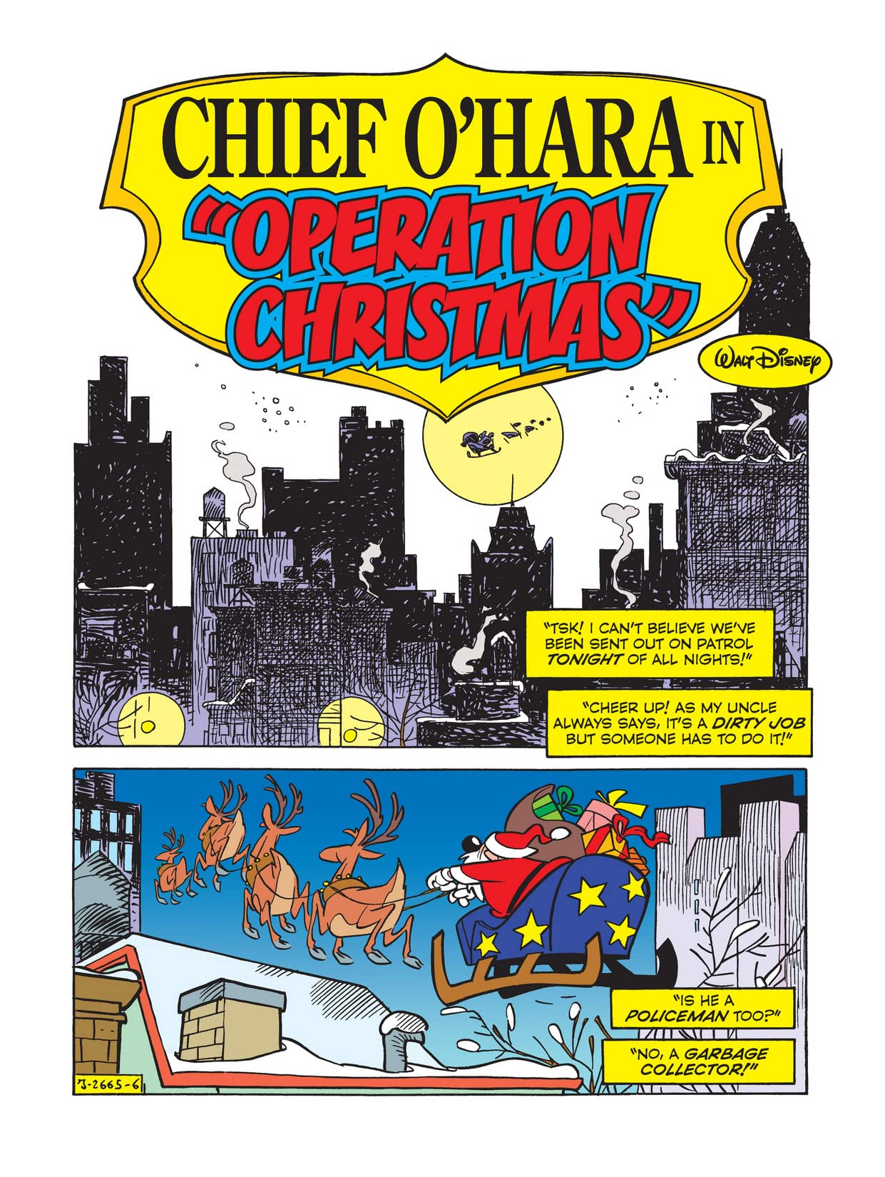 Chief O'Hara in: Operation Christmas