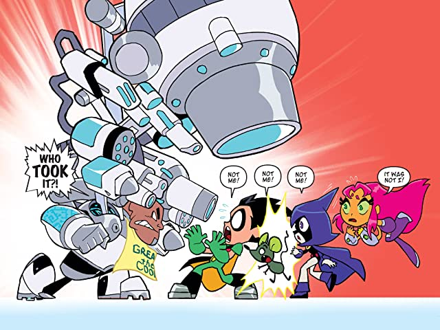 click for super-sized previews of Teen Titans Go! (2013-) #1
