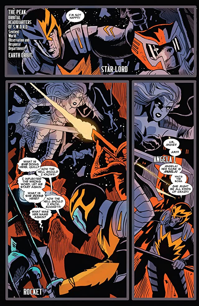 click for super-sized previews of Guardians of the Galaxy (2013-) #9