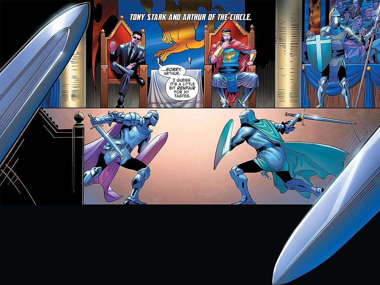 Iron Man: Fatal Frontier Infinite Comic #8