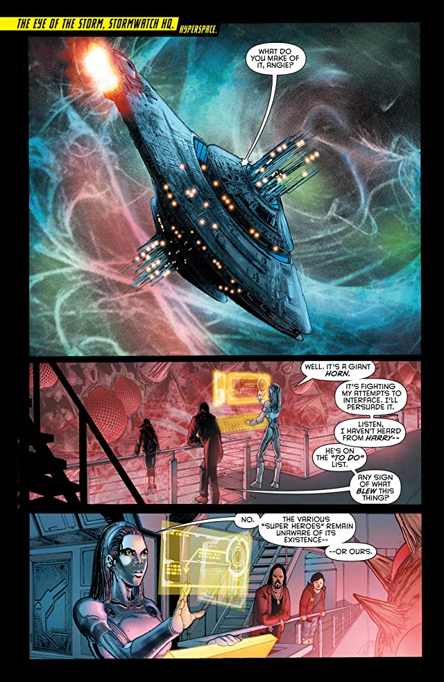 click for super-sized previews of Stormwatch (2011-2014) Vol. 1: The Dark Side