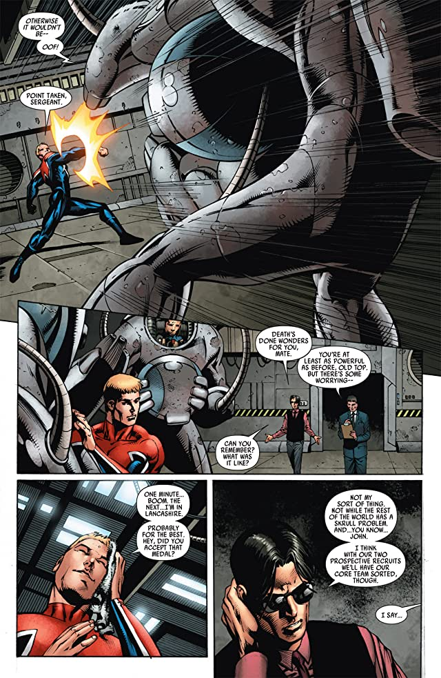 click for super-sized previews of Captain Britain and MI: 13 #5