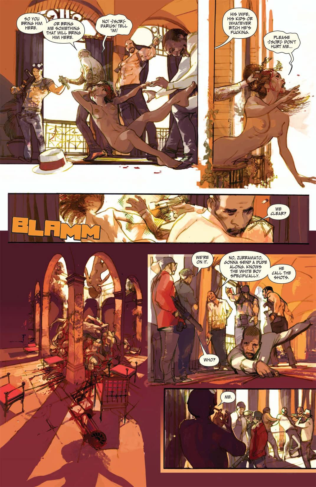 The Last Days of American Crime #2 (of 3)