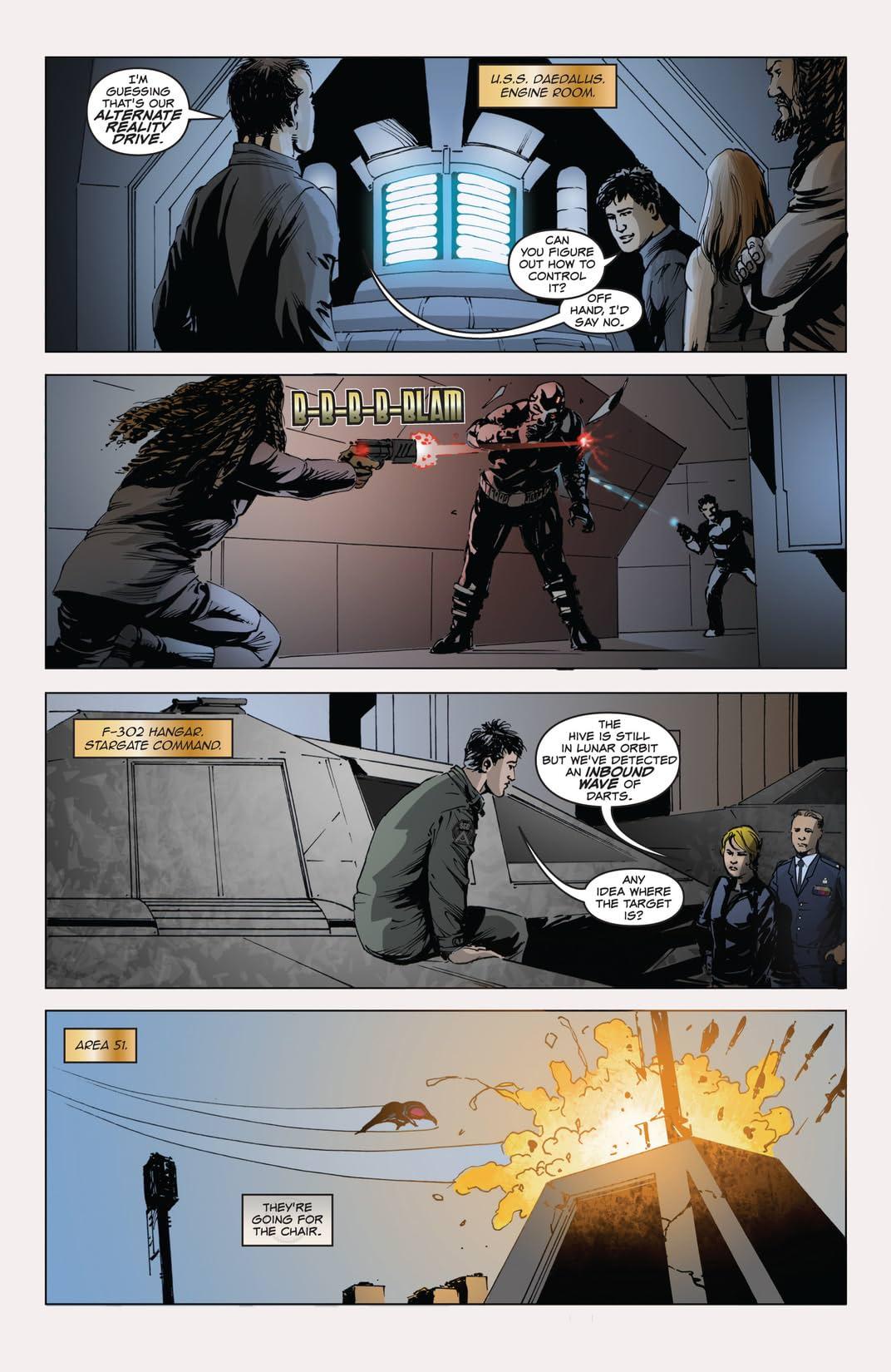 Stargate Atlantis Back to Pegasus #1