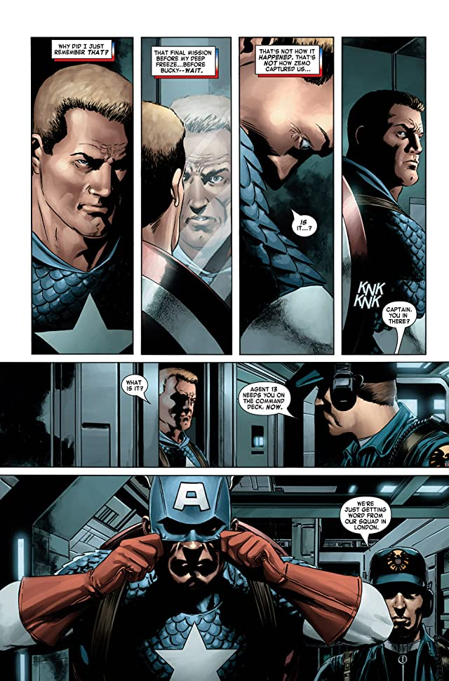 click for super-sized previews of Captain America (2004-2011) #3