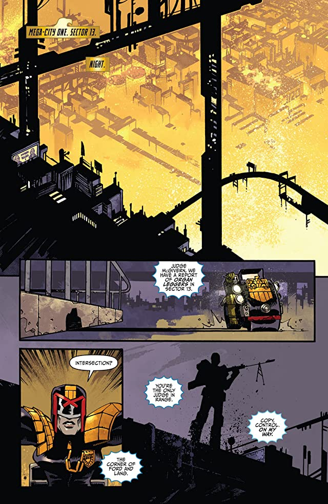 click for super-sized previews of Judge Dredd #14