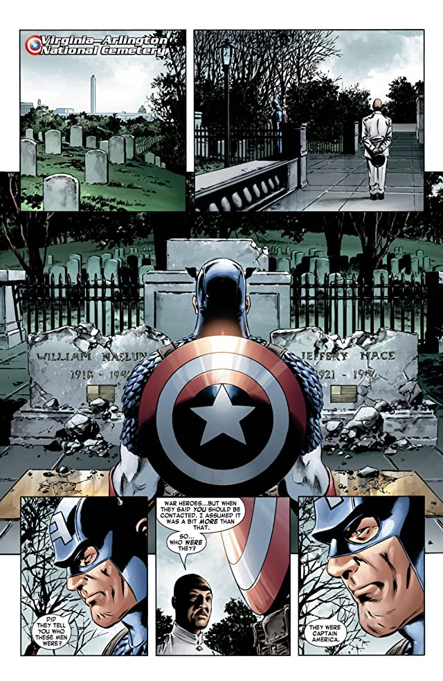click for super-sized previews of Captain America (2004-2011) #4