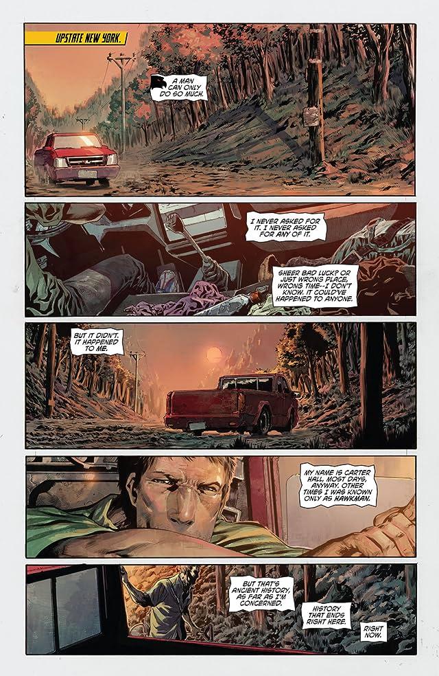 The Savage Hawkman (2011-2013) Vol. 1: Darkness Rising